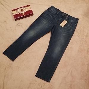 LUCKY BRAND men's 121 slim jeans.